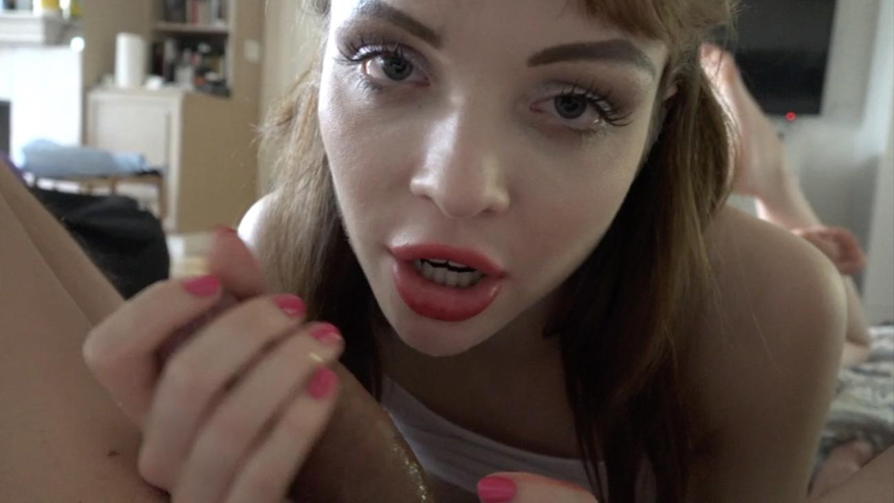 You fucking Aliya, and she eats your cum.